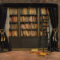 Miniature Library of Forgotten Books by LDelaney on Etsy