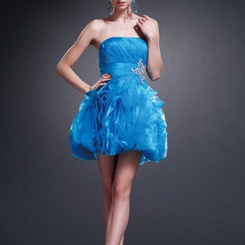 AB7036 Short Cocktail Homecoming New Years Eve Dress