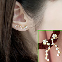 Big Dipper Statement Earrings (1 Piercing)