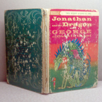 1963 Jonathan and the Dragon Vintage Childrens Book (see photos and description for condition issues)