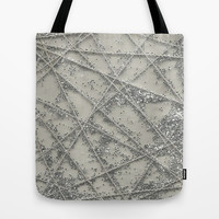 Sparkle Net Tote Bag by Project M