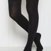 Knee I Say More? Thigh Highs in Black