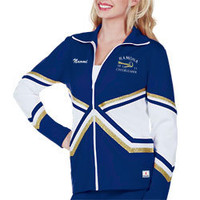 Chasse Double Knit Warm-Up Jacket with Metallic Tape