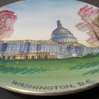 Collectible Vintage Washington D.C. Plate,Collectible Vintage,Castawayacres