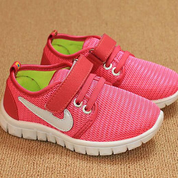children shoes kids sneaker girls boys breathable mesh running shoes 2016 new children's canvas shoes kids casual sports shoes