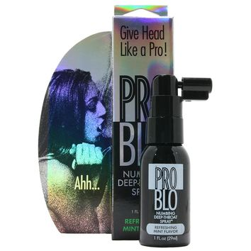 Pro Blo Refreshing MInt Numbing Spray in 1oz/29ml