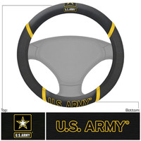 US Army Armed Forces Polyester Steering Wheel Cover