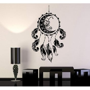 Vinyl Wall Decal Dreamcatcher Protective Amulet Talisman Stickers Unique Gift (937ig)
