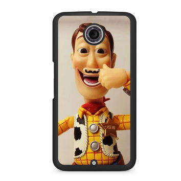 Woody Mustache Toy Story Nexus 6 case