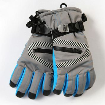 Winter Windproof Waterproof Glove Children Kids Ski Gloves Warm Mittens Breathable Boys Girls Winter Gloves Stroller Accessories