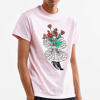 UO Artist Editions Taylor Johnson Rose Hole Tee - Urban Outfitters