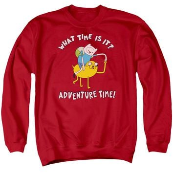 Adventure Time - Ride Bump Adult Crewneck Sweatshirt Officially Licensed Apparel