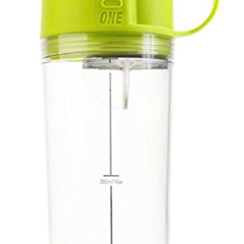 Umoro One Shaker Bottle / Blender Bottle / Water Bottle in one! 100cc/50g Top-End Storage for Protein or any supplement 100% Leak-Proof 20oz BPA Free!