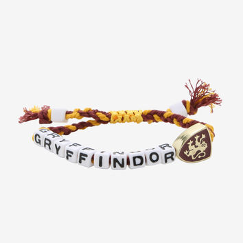 Harry Potter Gryffindor Block Letter Bracelet