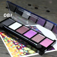 #08 New Makeup Palette Natural Eye Makeup Light 6 Colors Eye Shadow Makeup Shimmer Matte Eyeshadow Palette Set by Sugar Box