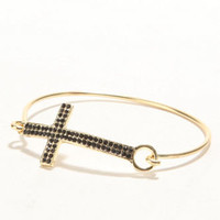 With Love From CA Hinge Cross Bracelet at PacSun.com