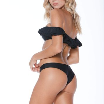 MGS Dylan Top and Maria Bottom Black Set