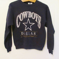 Vintage 1990's Retro Dallas Cowboys Sweatshirt