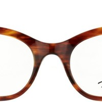 Ray Ban RX5226 Cat Eye 2144 Striped Havana Optical Frame, Buy Online at Gaffos.com