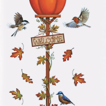 Fall Harvest Garage Door Magnet Set