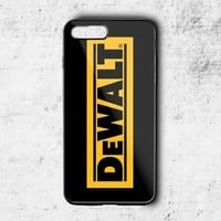 Best Dewalt Tools Contractor Logo Case For iPhone 6 6s 7 8 Plus Samsung Cover +