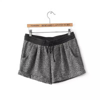 Winter Women's Fashion Casual Home Shorts [4917820228]