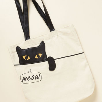 Give You Paws Tote | Mod Retro Vintage Bags | ModCloth.com