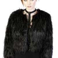 Marla Faux Fur Jacket