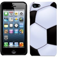 Amazon.com: Apple iPhone 5 Soccer Ball Cover: Cell Phones & Accessories
