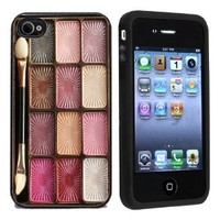 Amazon.com: Makeup Case Apple iPhone 4 or 4s Case / Cover Verizon or AT&T: Cell Phones & Accessories