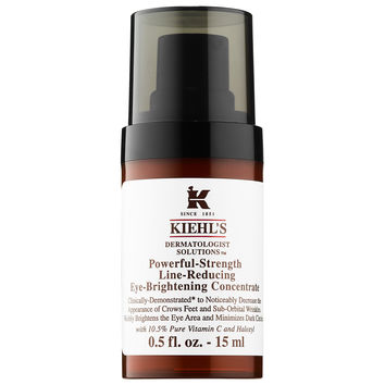 Powerful-Strength Line-Reducing Eye-Brightening Concentrate - Kiehl's Since 1851 | Sephora