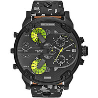 Diesel Mr. Daddy 2.0 Multifunction Black IP Camo Strap Watch - Camo