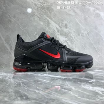 DCCK2 N895 Nike Air Vapormax 2019 mesh breathable Drop molding Running Shoes black Red