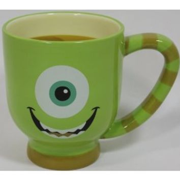 Disney Monster Inc. Mike Wazowski Ceramic Mug - Disney Parks Exclusive