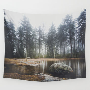 Moody mornings Wall Tapestry by happymelvin