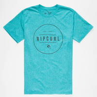 Rip Curl Bottle Mens T-Shirt Turquoise  In Sizes