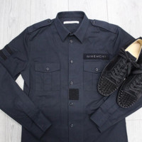 ca spbest Givenchy Military shirt