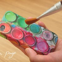 Apple iphone case for iphone iphone 3Gs iphone 4 iphone 4s iPhone 5 : Paint box