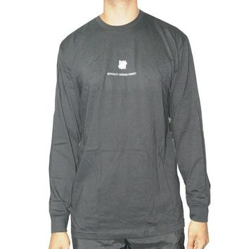 ONETOW Undefeated Officially Licensed Product Long Sleeve Tee In Black