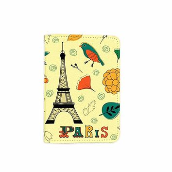 Paris Cute Leather Passport Holder - Passport Covers - Passport Wallet_SUPERTRAMPshop