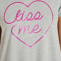 Kiss Me Graphic Nightdress | Forever 21 - 2000152992