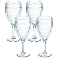 Wine Glass, Clear  4-pack By Tervis