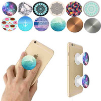 Mobile Phone Holder Popsocket Fashion Air Sac Expanding Stand Grip Pop Socket Mount for iPhone Tablet Mobile Holder Desk Holder