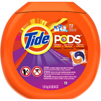 Walmart: Tide Pods Spring Meadow Detergent, 72ct