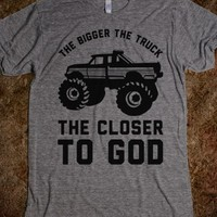 The Bigger the Truck the Closer to