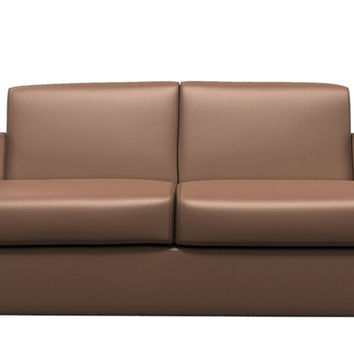 Paglia II Leather Loveseat by Natuzzi Editions