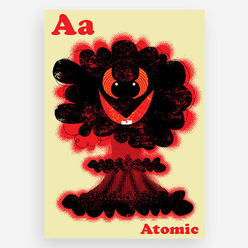 A is for Atomic Print