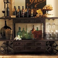 Sheffield Entertaining Bar Cart