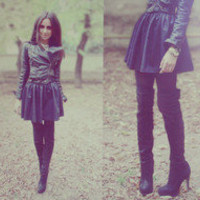 My big love for black and ocher  by Perventina Ols // LOOKBOOK.nu