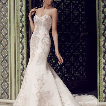 Casablanca Bridal 2189 Fit And Flare Wedding Dress